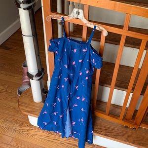 Flamingo romper dress! Size 4t